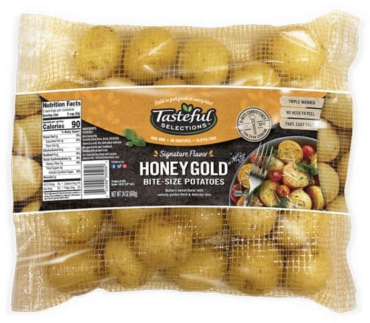 Tasteful Selections Honey Gold Bite-Size Potatoes Mesh Pillow Pack