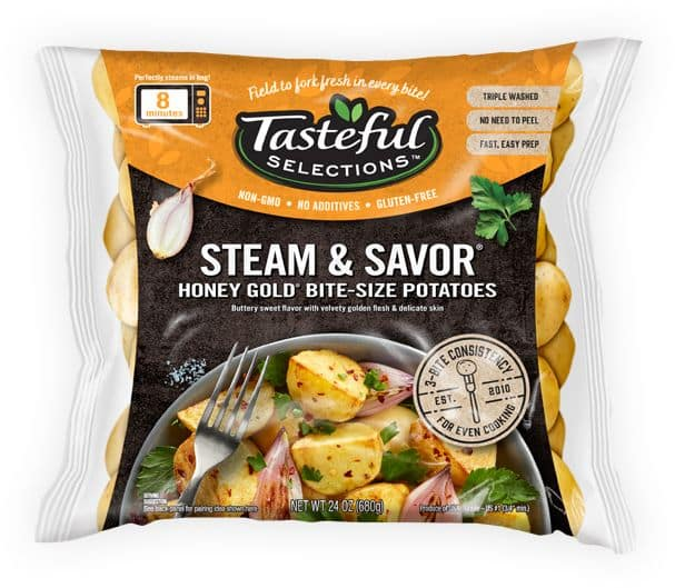 Tasteful Selections Steam & Savor Honey Gold Bite-Size Potatoes