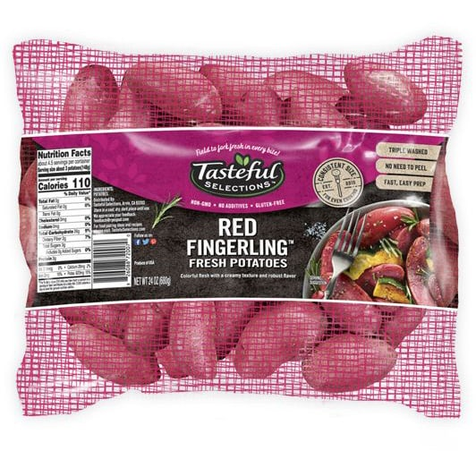 Tasteful Selections Red Fingerling Fresh Potatoes Mesh Pillow Pack
