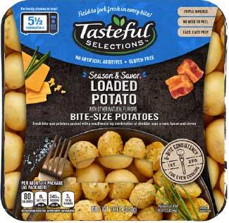 Tasteful Selections Season & Savor Loaded Potato Bite-Size Potatoes