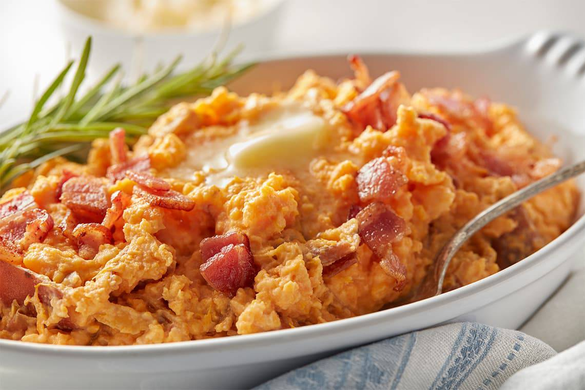 Bacon Mashed Sweet Potatoes (5)