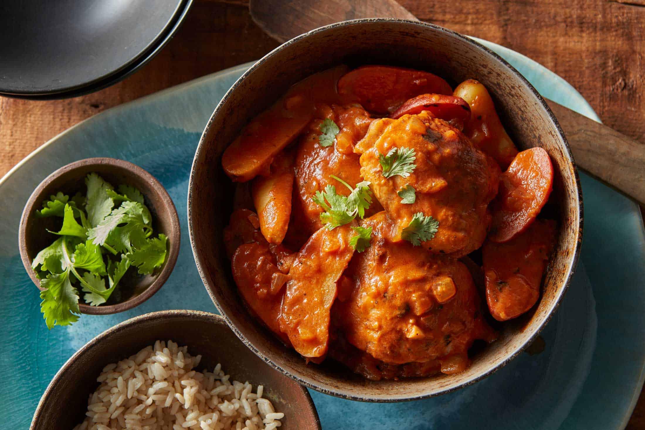 Chicken & Potato Masala V1