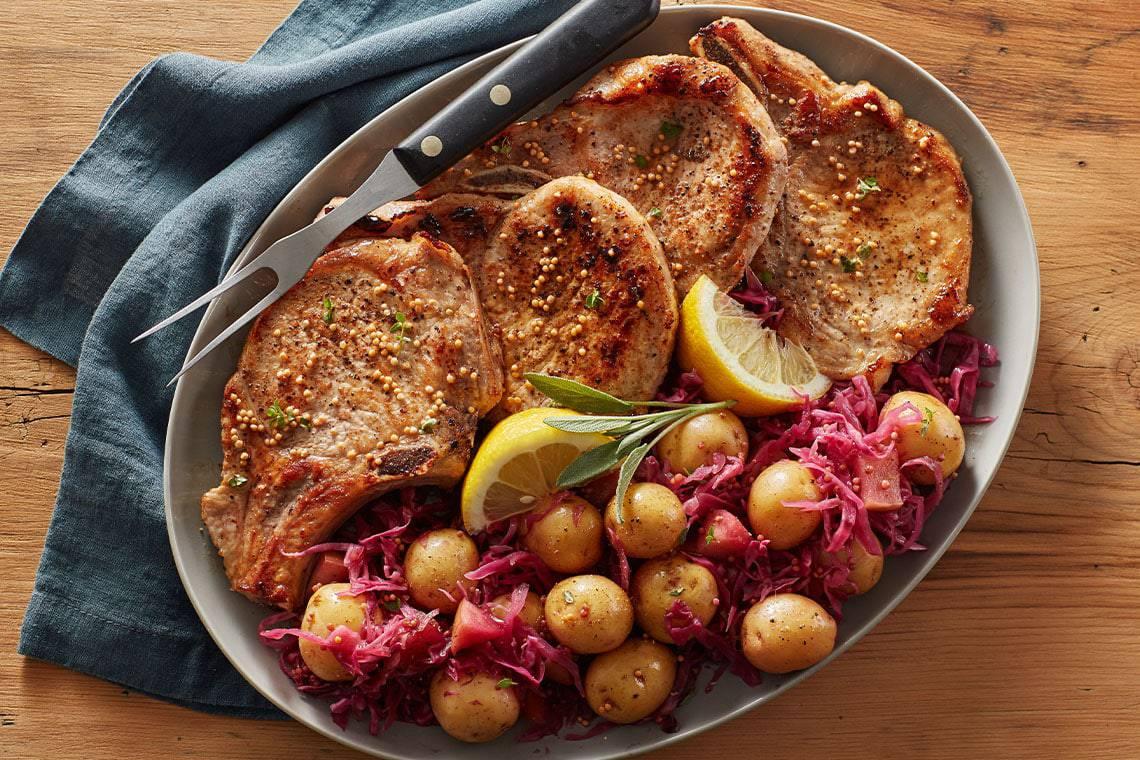 Fall Pork and Potatoes