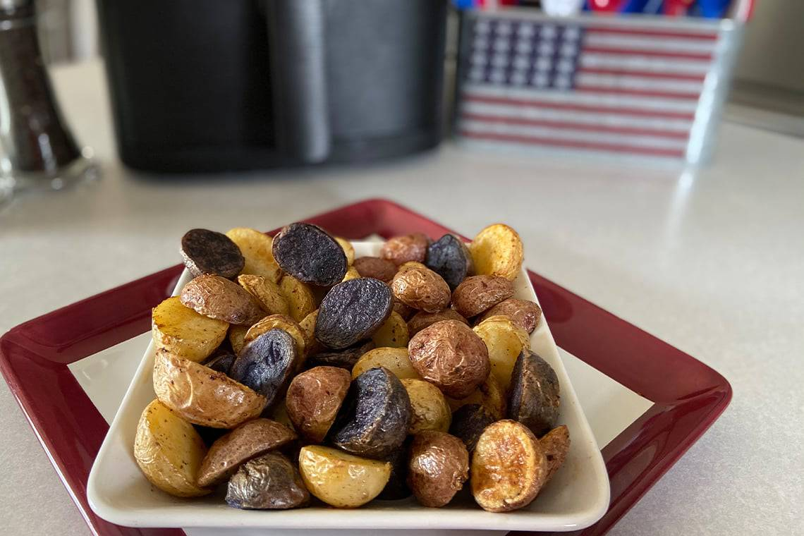 American Blend Air Fryer Potatoes