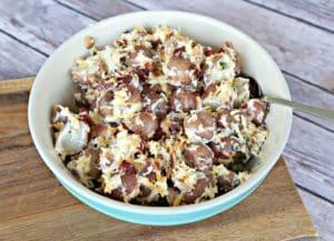 Bacon and Cheddar Potato Salad (2)