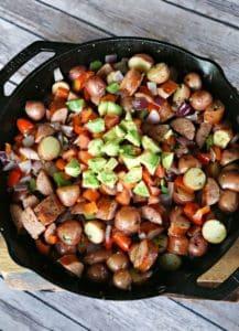 Breakfast Potato and Sausage Skillet (2)