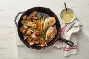 Cast-Iron Chicken & Potato Supper