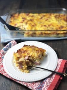 Cheesy Breakfast Potato Casserole (1)