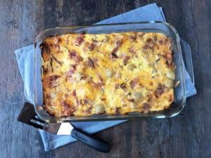 Cheesy Breakfast Potato Casserole (4)