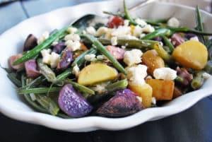 Fingerling Potato Salad with Lemon Balsamic Vinaigrette (4)