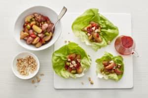 Korean Potato Lettuce Wraps (3)