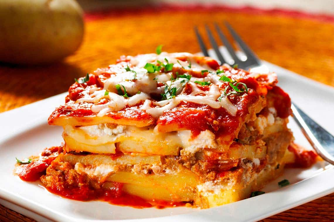 Quick and Healthy Gluten-free Potato Lasagna