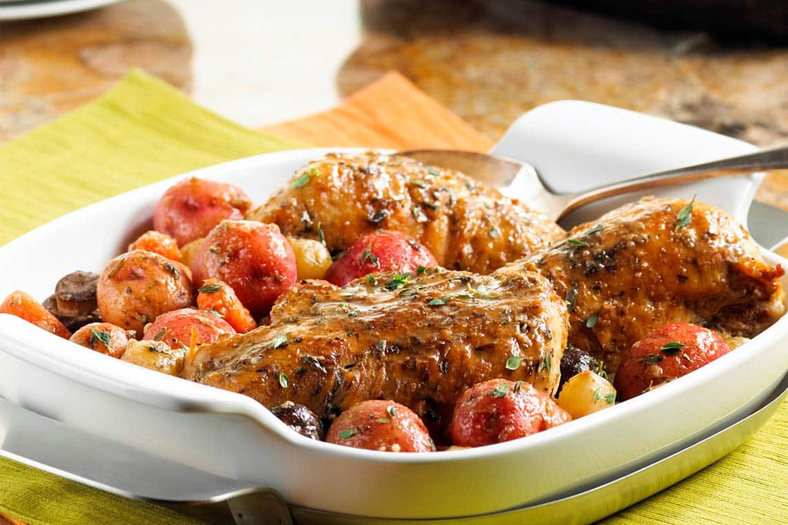 Quick and Healthy Slow Cooker Chicken and Potatoes
