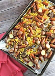 Roasted Potato, Sausage and Vegetable Salad (1)