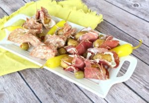 Salami and Roasted Potato Skewers (2)