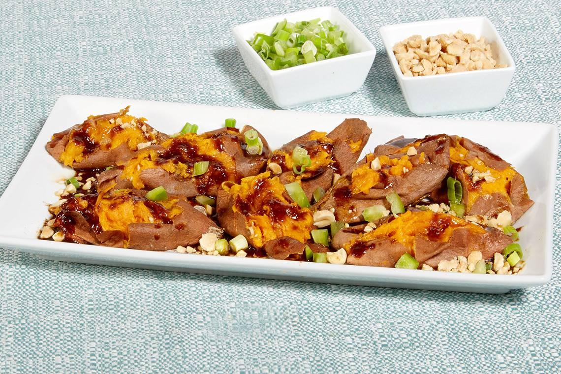 Salt Roasted Sweet Potatoes