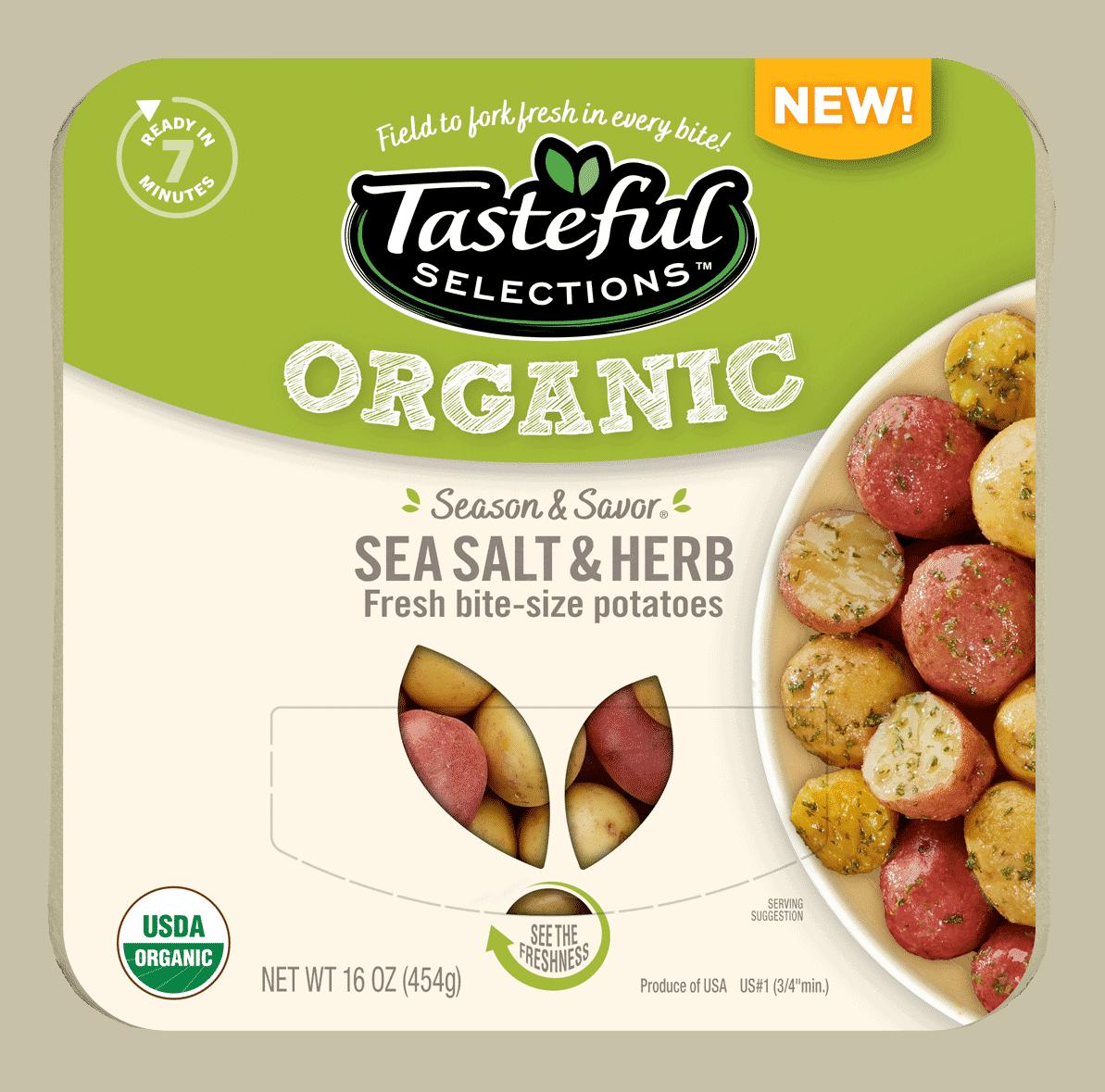 Season Savor Organic Sea Salt & Herb Bite-Size Potatoes