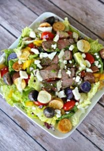Steak and Potato Cowboy Salad (Clever Housewife) (2)