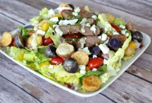 Steak and Potato Cowboy Salad (Clever Housewife) (3)
