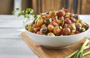 Tasteful Selections Roasted Nibbles Gourmet Potato Salad with Garlic and Bacon_Sunrise Medley (4)