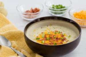 Easy Potato Soup (Fun Money Mom)