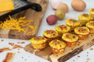 Mini Egg Muffins (Fun Money Mom)