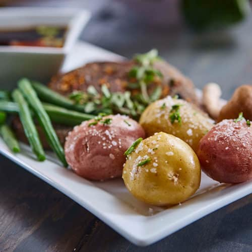 Steamed Potatoes Tasteful Selections