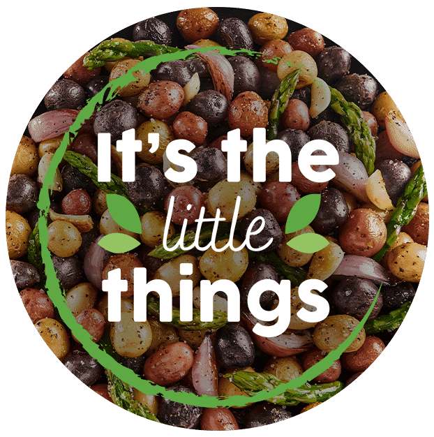 It's the Little Things graphic
