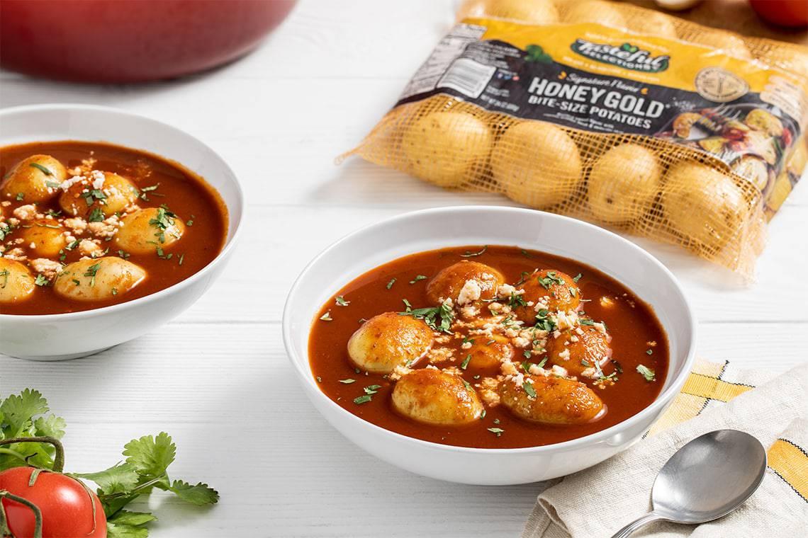 Tasteful Selections – Mexican Potato Soup