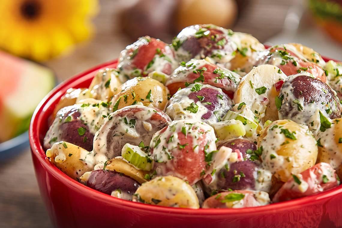 Creamy American Potato Salad